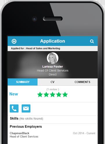 HireStorm Mobile Application